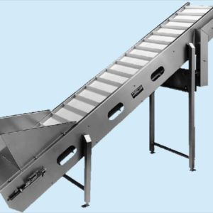 f. Infeed Clined Belt Conveyor